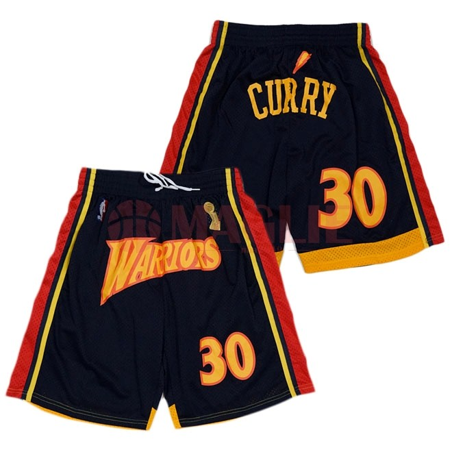 offerte Pantaloni Basket Golden State Warriors Curry Nero a Poco Prezzo
